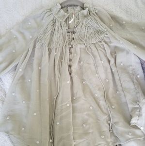 "Tops - Free People ""Ready to Run Top""  Never worn"